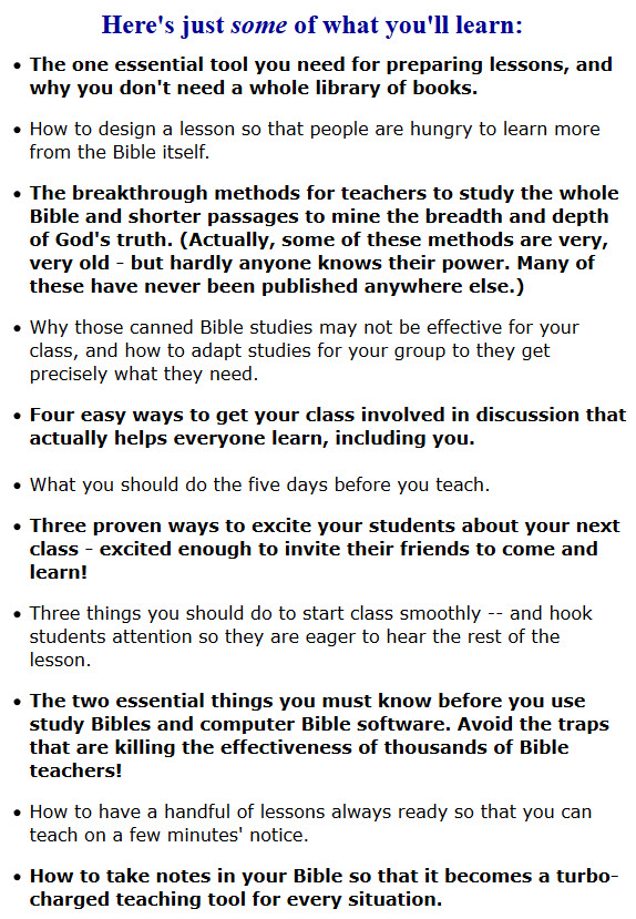 Guidelines for praying for your students