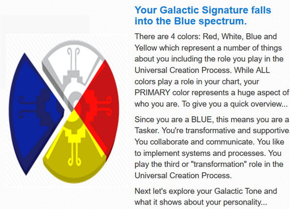 Red, White, Blue and Yellow Galactic Tone