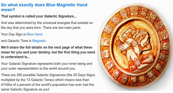 Your Galactic Signature Report