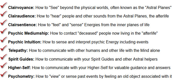 "How to ""See"" beyond the physical worlds, often known as the ""Astral Planes"""