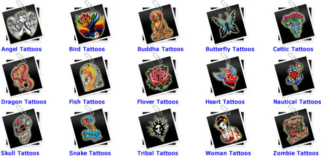 25,000 Beautiful Tattoo Designs