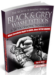 The Secrets of Making Awesome Black & Grey Wash Tattoos