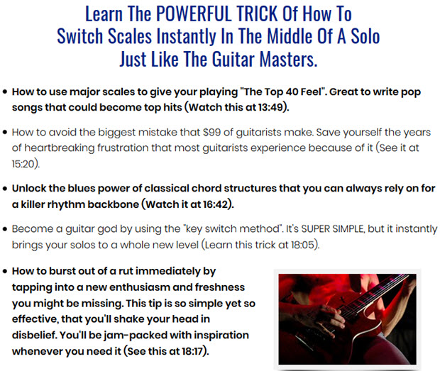 How to use major scales