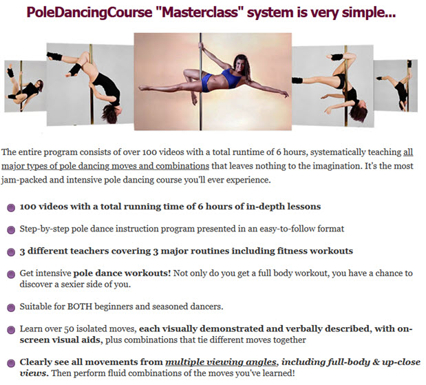 pole dance workouts