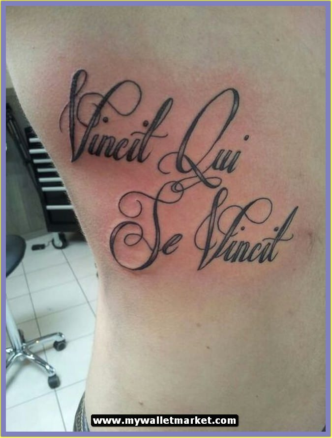 Beauty and the beast quote tattoos
