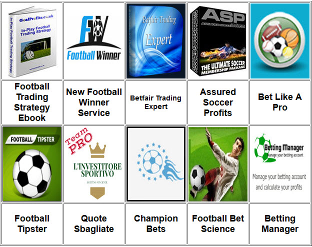 Football Trading Strategy Ebook
