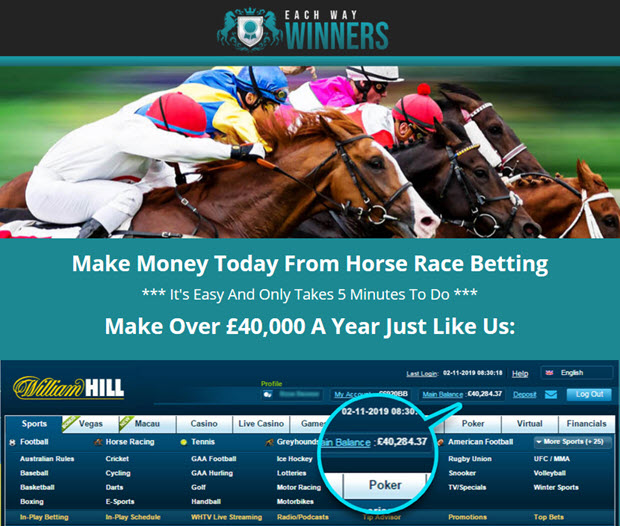 Make Money Today From Horse Race Betting