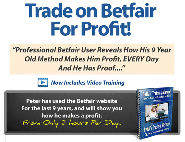 Betfair horse racing trading systems