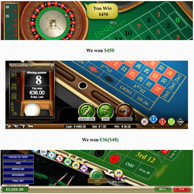 Casino destroyer roulette system