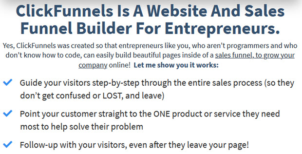 A Website And Sales Funnel Builder For Entrepreneurs
