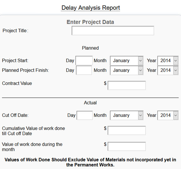 Delay Analysis Report