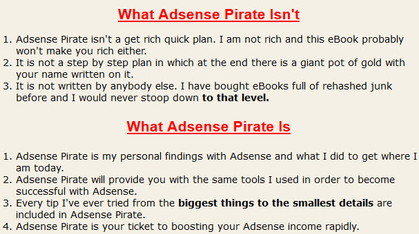 What Adsense Pirate