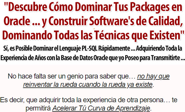 Domina Tus Packages En Oracle