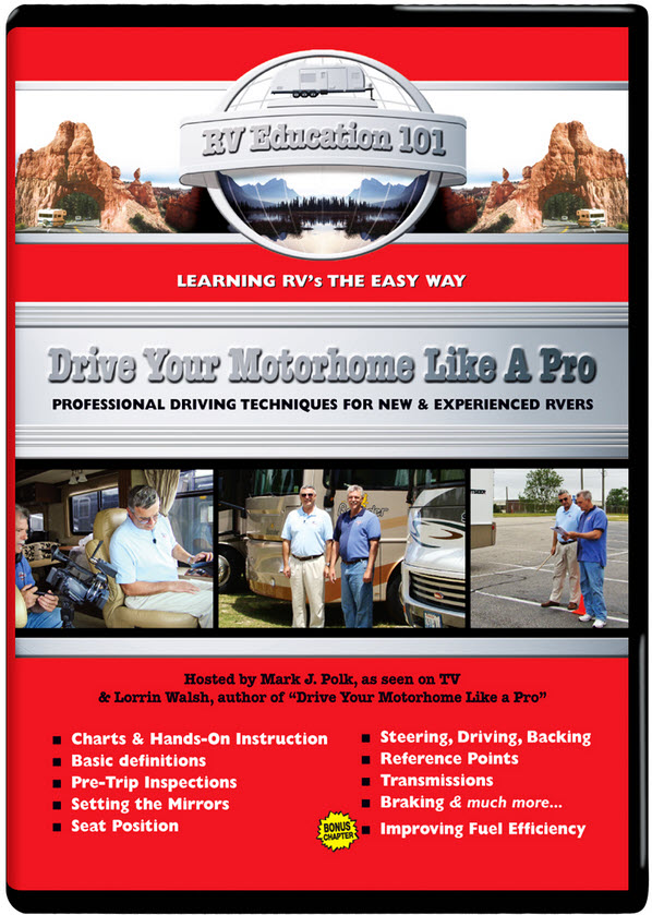 Drive Your motorhome Like a Pro DVD