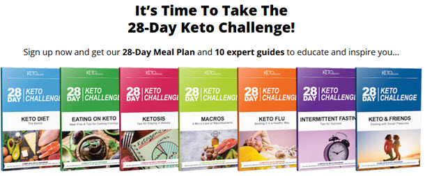 28-Day Meal Plan and 10 expert guides