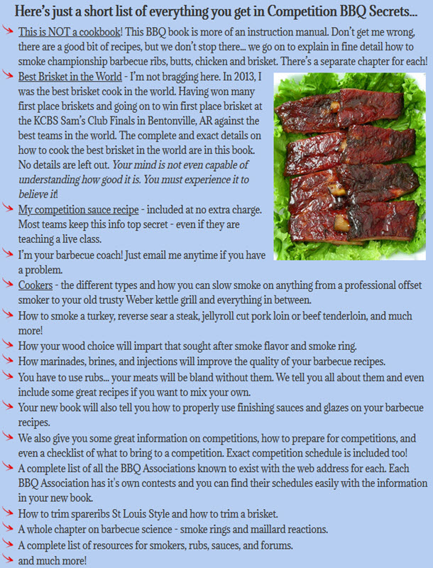 Competition BBQ Secrets