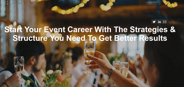 Event Career With The Strategies