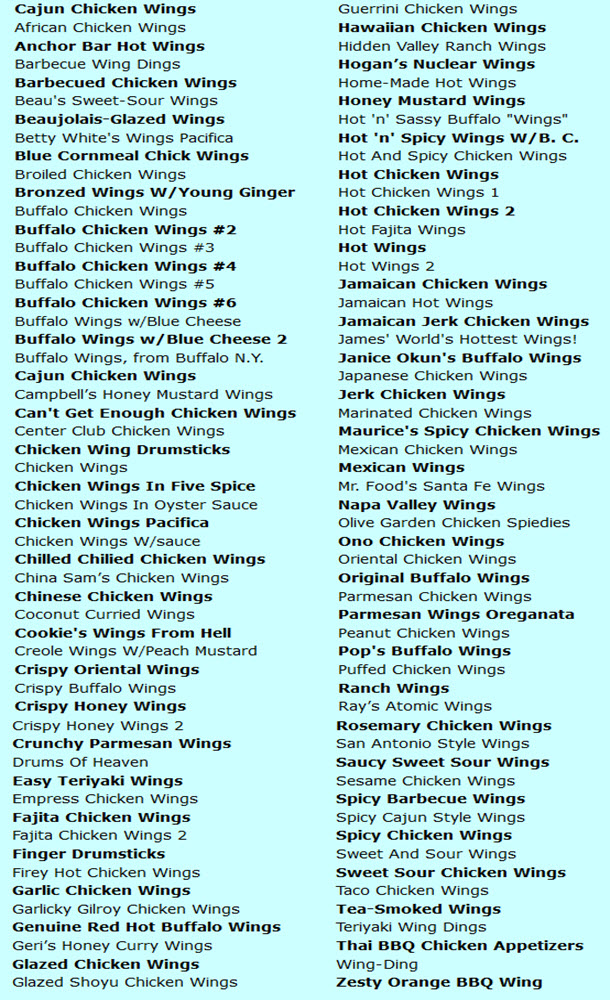 Ultimate Chicken Wing Cookbook