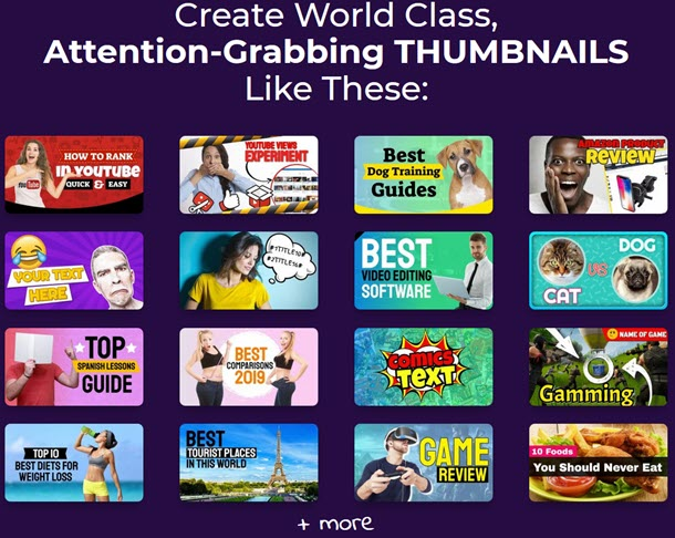 Create World Class Attention-Grabbing THUMBNAILS