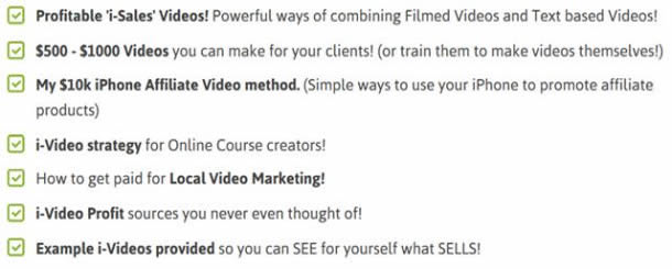 Profitable 'i-Sales' Videos