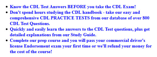 CDL General Knowledge Study Guide 1 - YouTube