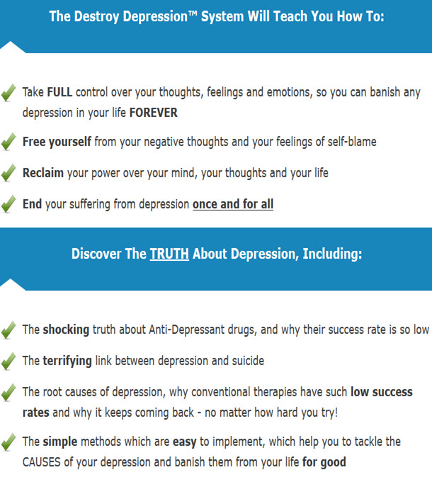 Destroy Depression System
