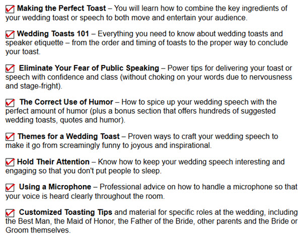 Unique Best Man Speeches And Wedding Planning