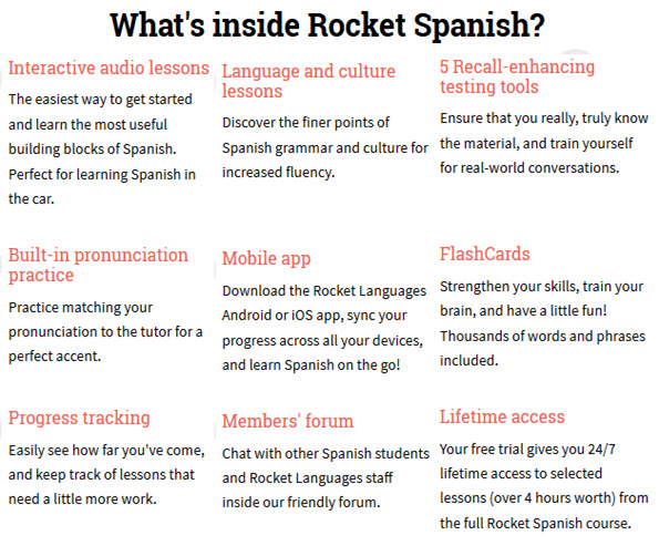 Rocket Spanish Courses Download Free Lessons