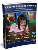 child learning reading