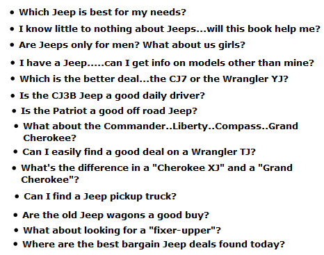 the Best Used Jeeps Guide