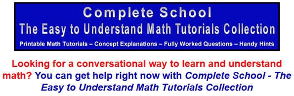 The-Easy-to-Understand-Math-Tutorials-Collection