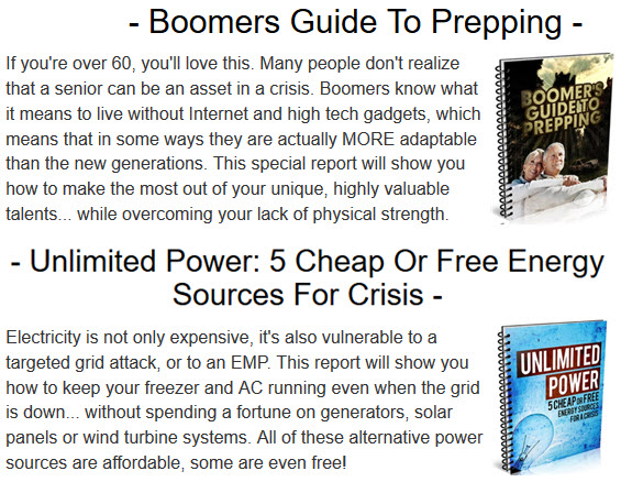 Boomers Guide To Prepping