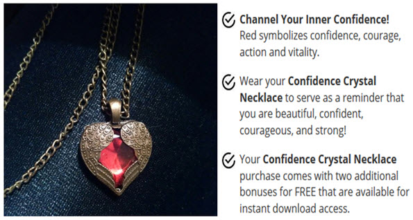 Get This Confidence Crystal Necklace