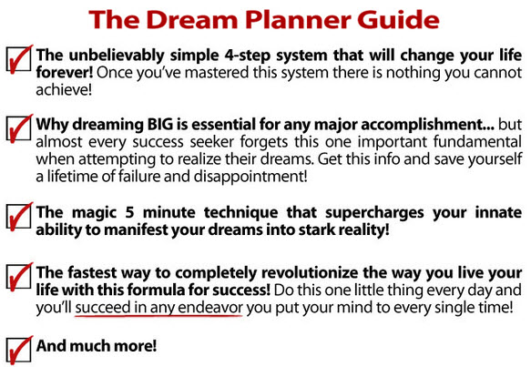 The Dream Planner Guide