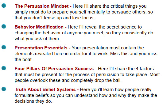 The Persuasion Mindset