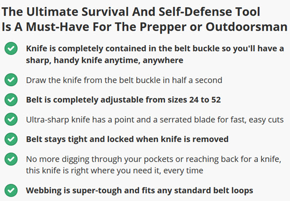 The Ultimate Survival And Self-Defense Tool