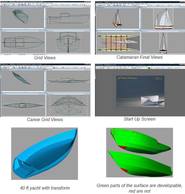 3DBoatDesign-MOdeling-Software
