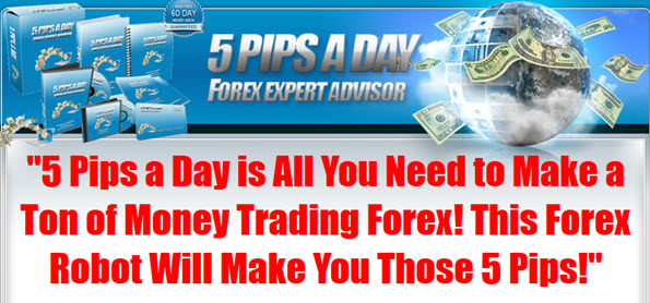 5 Pips A Day Forex Robot Profits
