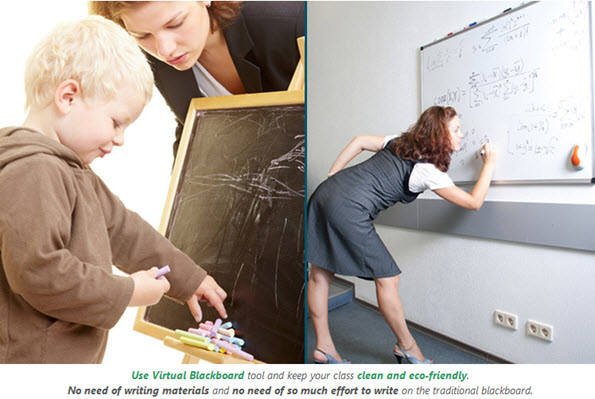 Use Virtual Blackboard tool