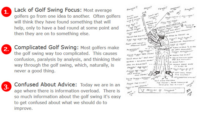 Lack of Golf Swing Focus