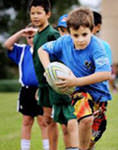 Little rugby league players