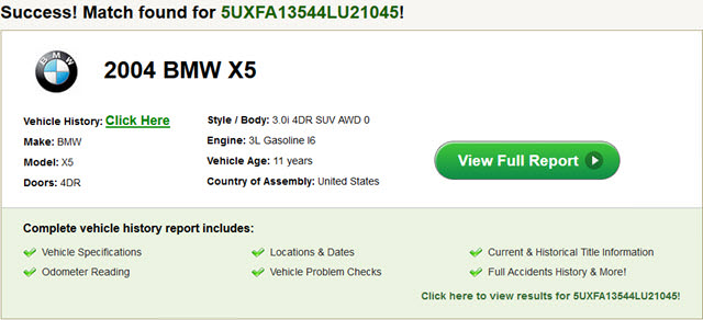 Vehicle History Reports And Alternative To Carfax And