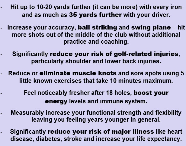 reduce your risk of golf-related injuries