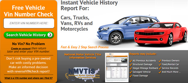 Vehicle History Reports And Alternative To Carfax And Autocheck